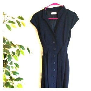 Calvin Klein Navy dress Like new!!